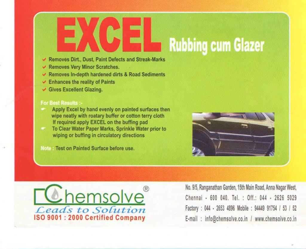 Product Details – Excel – Chemsolve India Pvt  Ltd